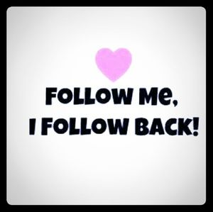 Follow me and I will share the love ❤